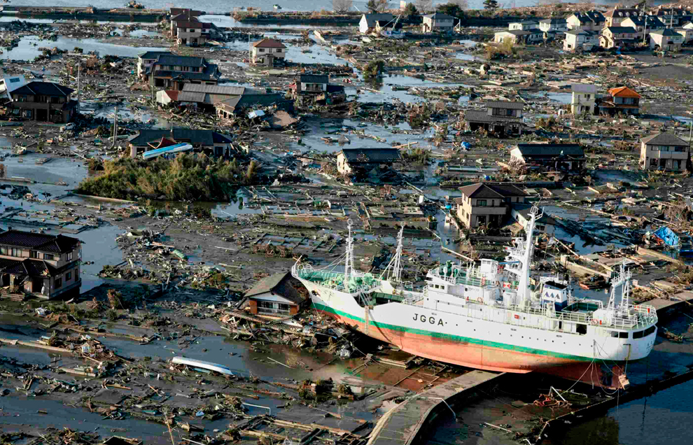 Japan tsunami pictures: before and after - Photos - The ...